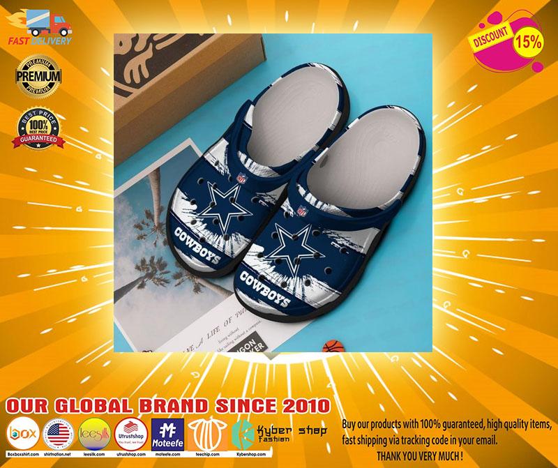 Dallas Cowboys NFL crocs shoes crocband - LIMITED EDITION