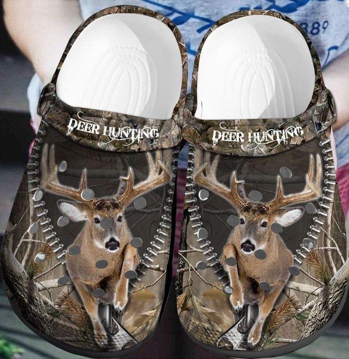 Deer Hunting Crocs Crocband Clog