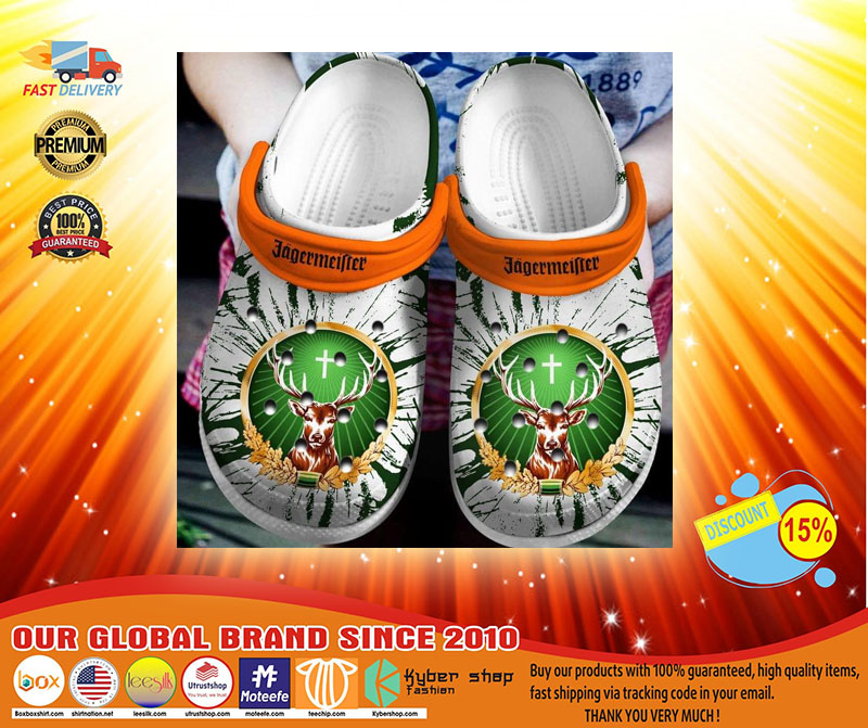 Deer Jagermeister crocs shoes crocband - LIMITED EDITION