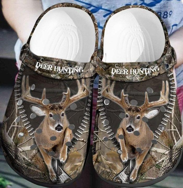 Deer hunting crocband crocs shoes