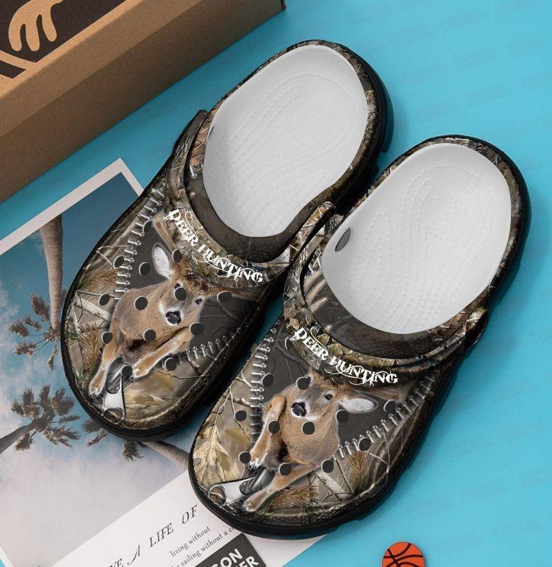 Deer hunting crocband crocs