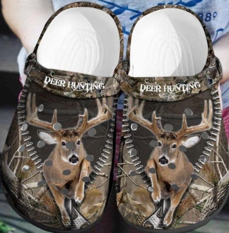 Deer hunting crocs crocband