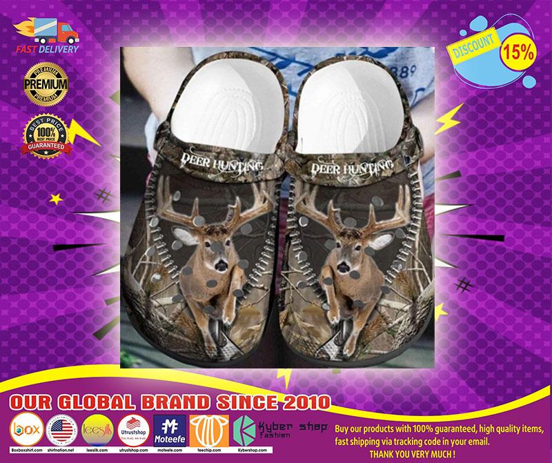 Deer hunting crocs shoes crocband -LIMITED EDITION