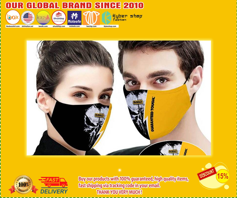 Dewalt guaranteed tough face mask - LIMITED EDITION BBS