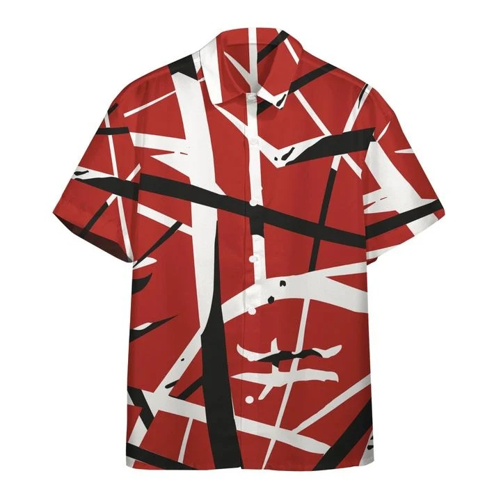 Eddie van halen summer beach hawaiian shirt