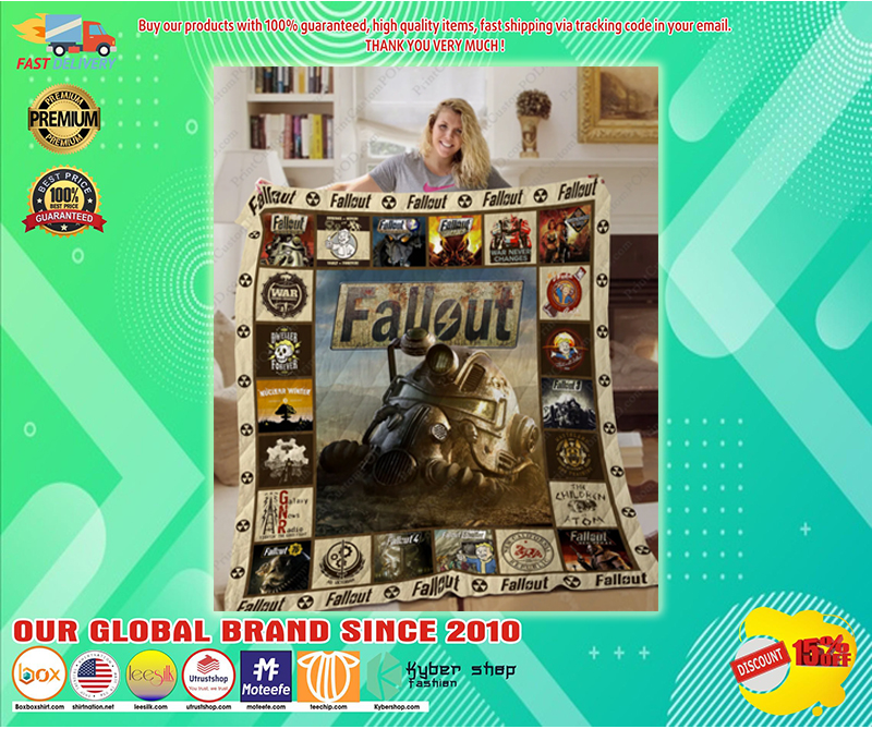 Fallout 3D quilt - LIMITED EDITION BBS