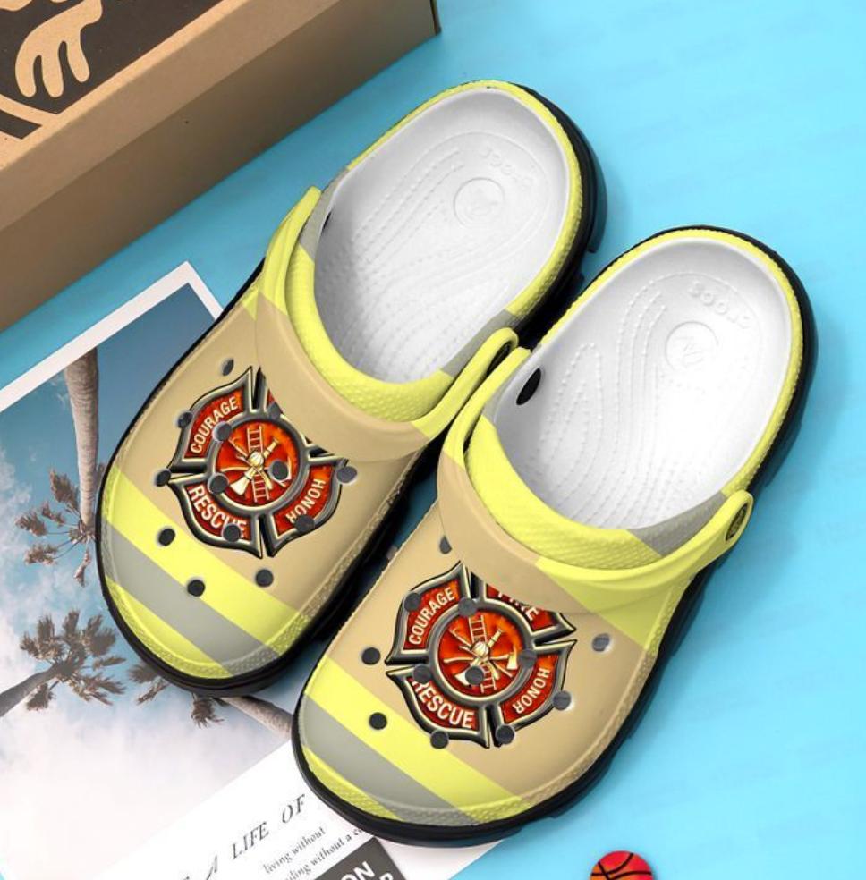 Firefighter crocs crocband - dnstyles
