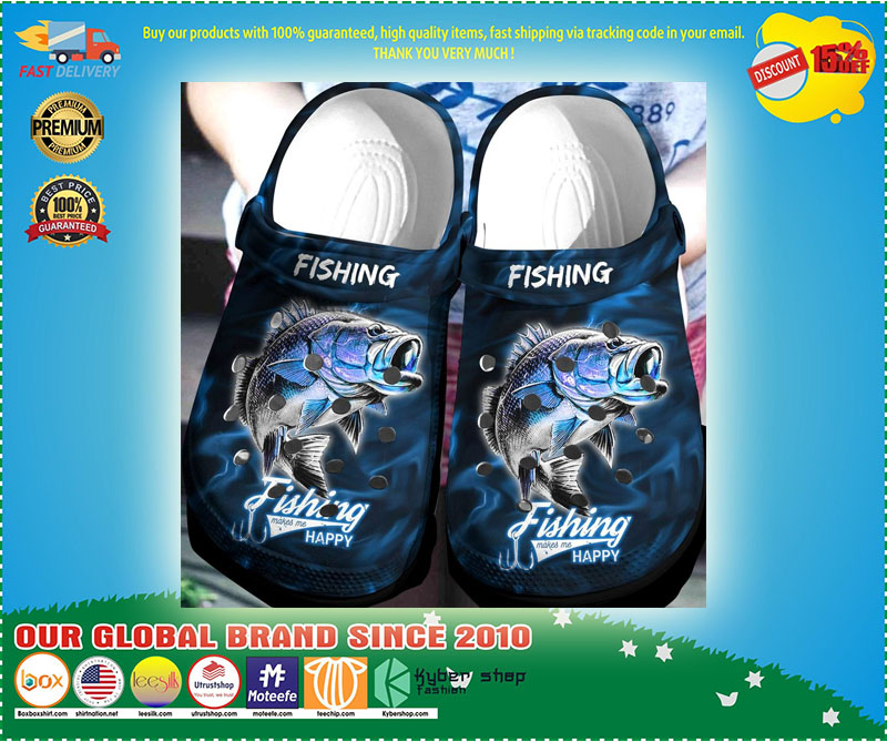 Fishing croc shoes Crocband  - LIMITED EDITION