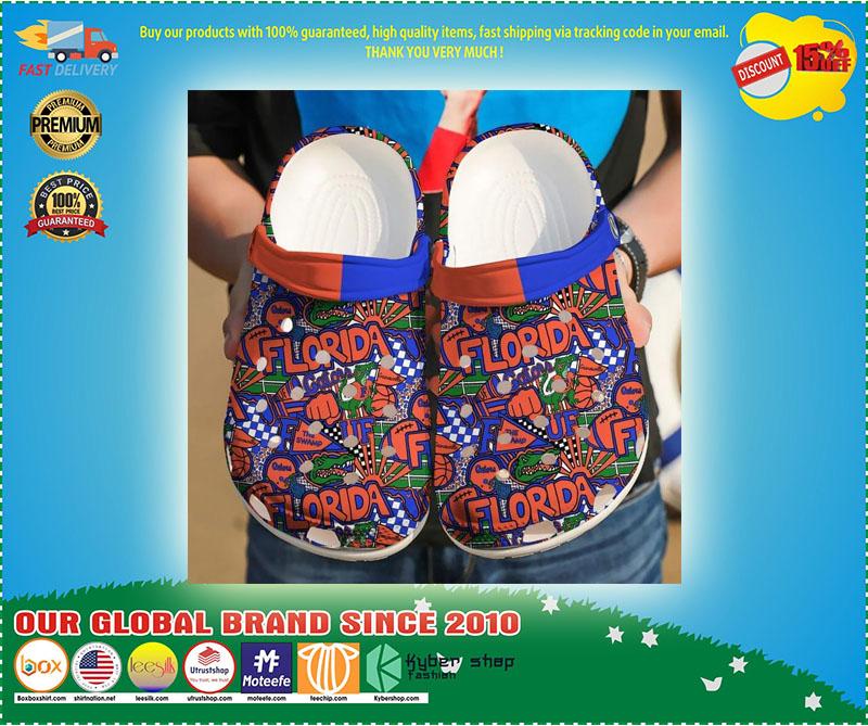 Florida Gators croc shoes crocband - LIMITED EDITION