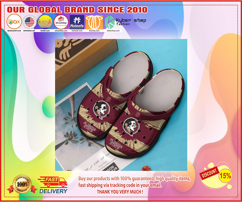 Florida State Seminoles football croc shoes crocband - LIMITED EDITION