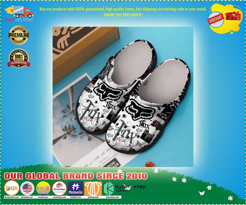 Fox racing croc shoes crocband - LIMITED EDITION