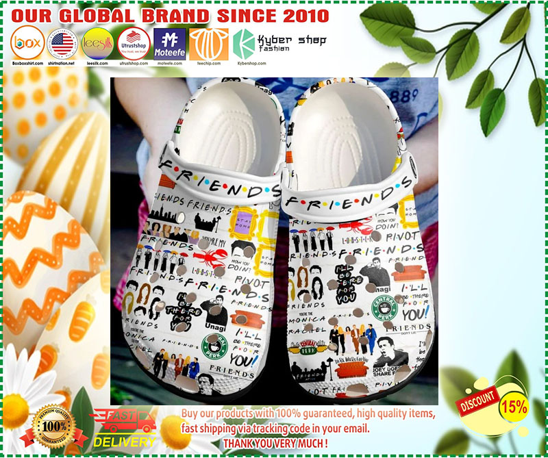 Friends Crocband Crocs shoes - LIMITED EDITION