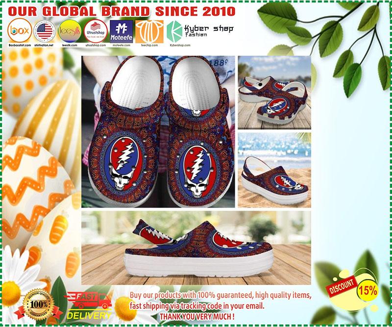 Grateful dead croc shoes crocband - LIMITED EDITION