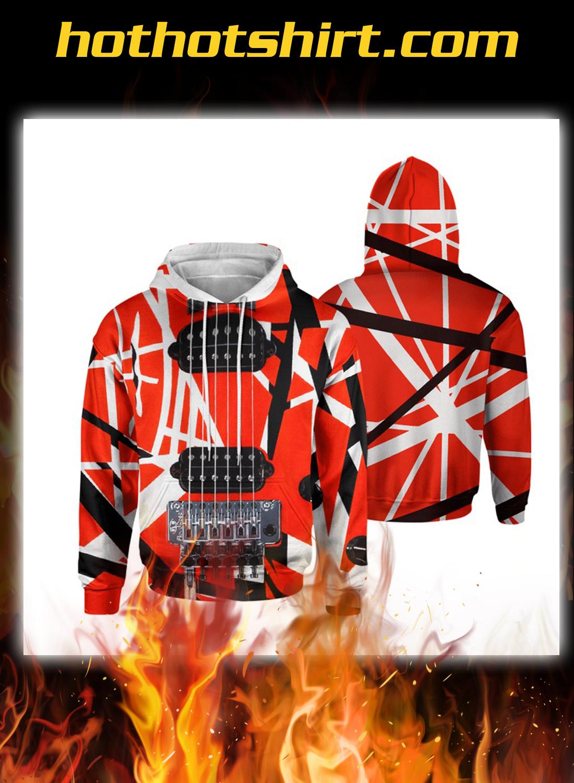 Guitar Van Halen 3d hoodie