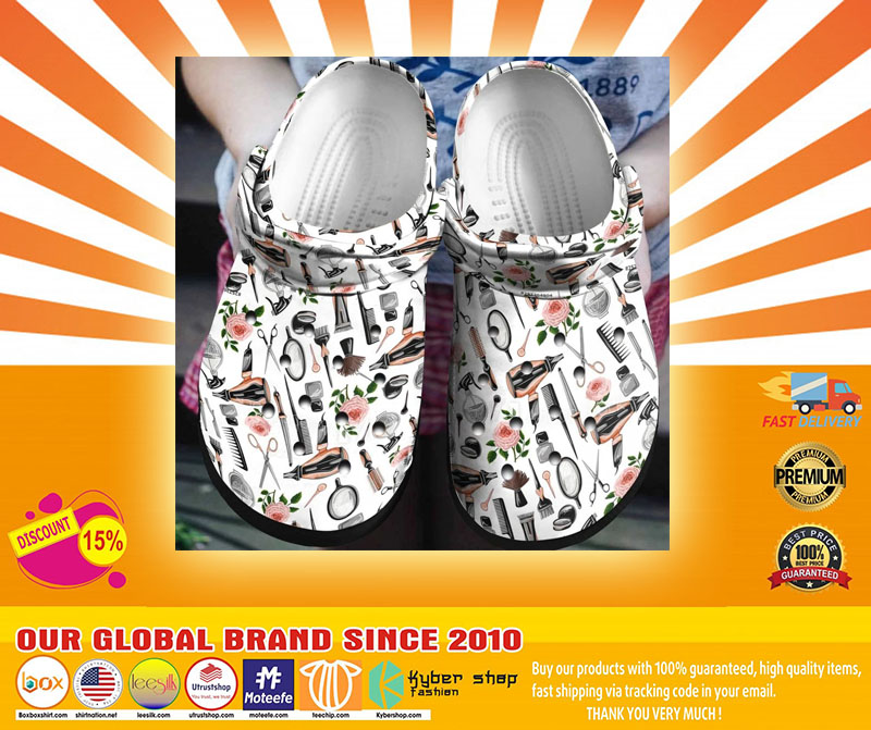 Hairstylist crocs shoes crocband-LIMITED EDITION