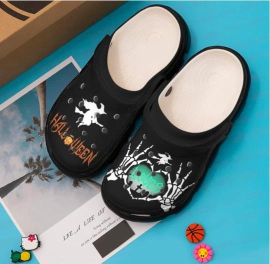 Halloween crocs crocband shoes- pic 2