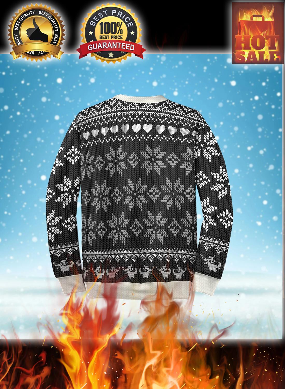 Her jack his sally couple ugly christmas sweatshirt 4