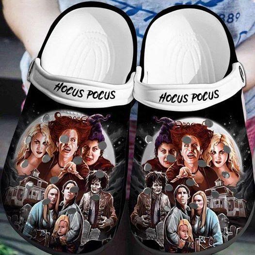 Hocus pocus crocs crocband shoes