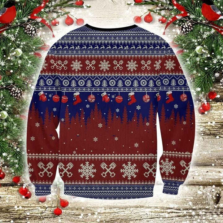 Hot rod 3d christmas sweater- pic 2