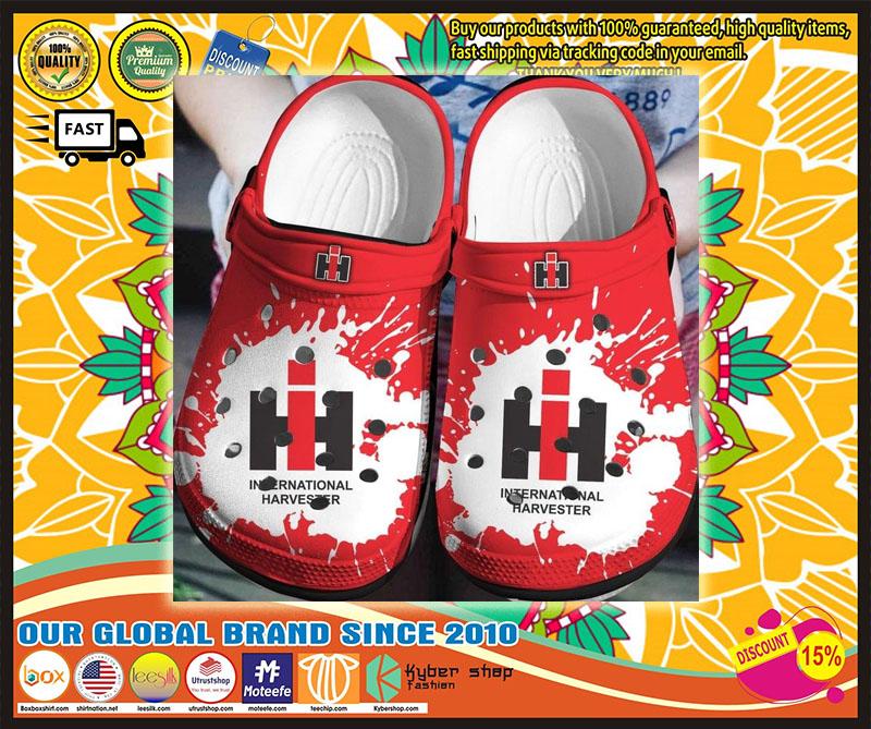 IH International harvester crocs shoes crocband - LIMITED EDITION