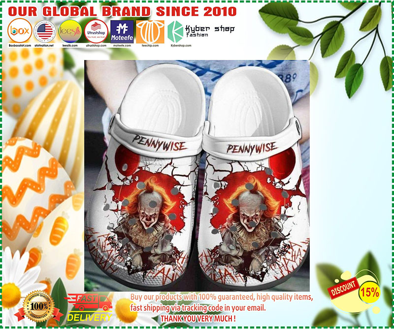 IT Pennywise croc shoes crocband - LIMITED EDITION