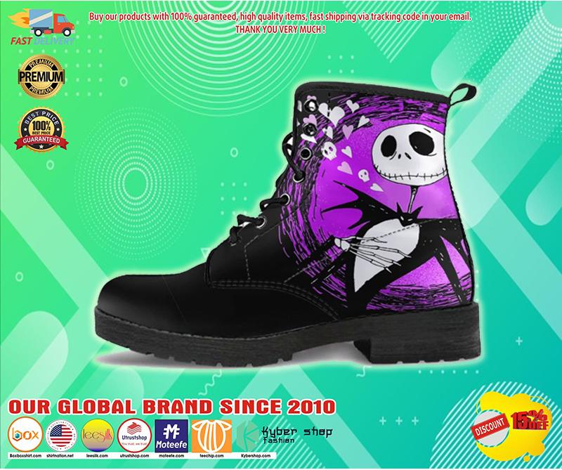 Jack Skellington happy Halloween timberland boots - LIMITED EDITION BBS