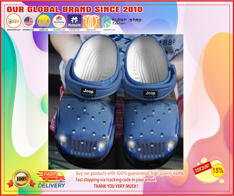 Jeep croc shoes crocband - LIMITED EDITION
