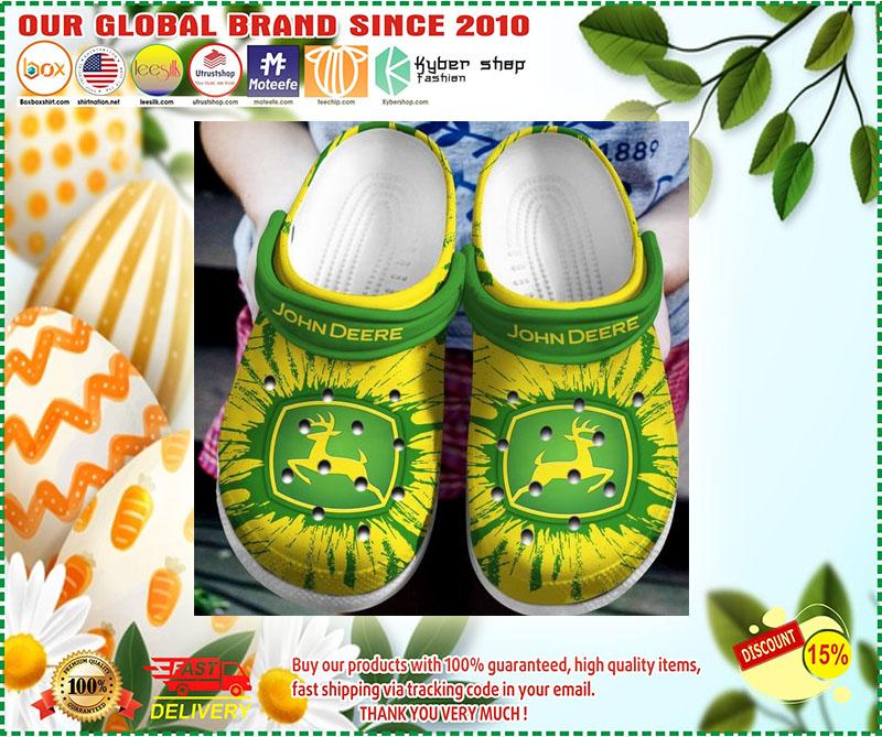 John Deere croc shoes crocband - LIMITED EDITION