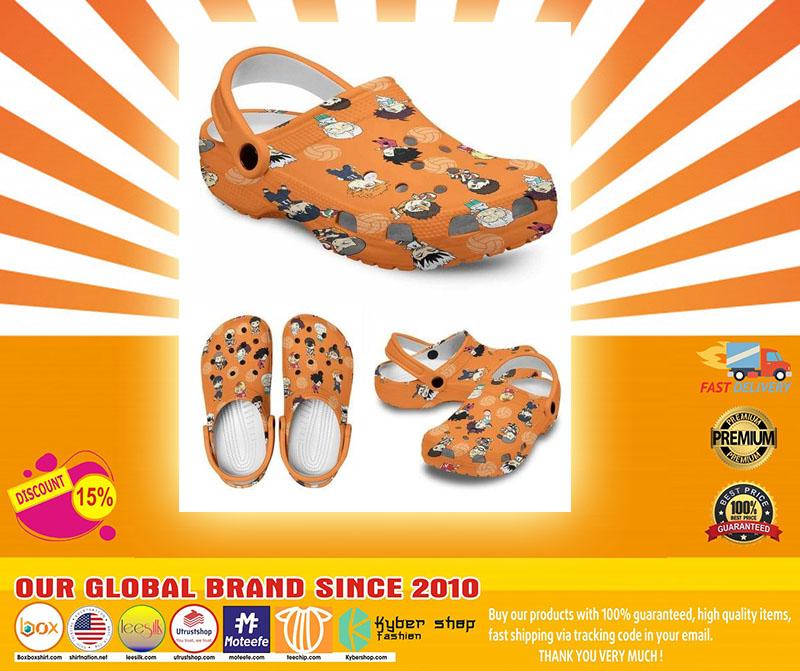 Karasuno crocs shoes crocband - LIMITED EDITION