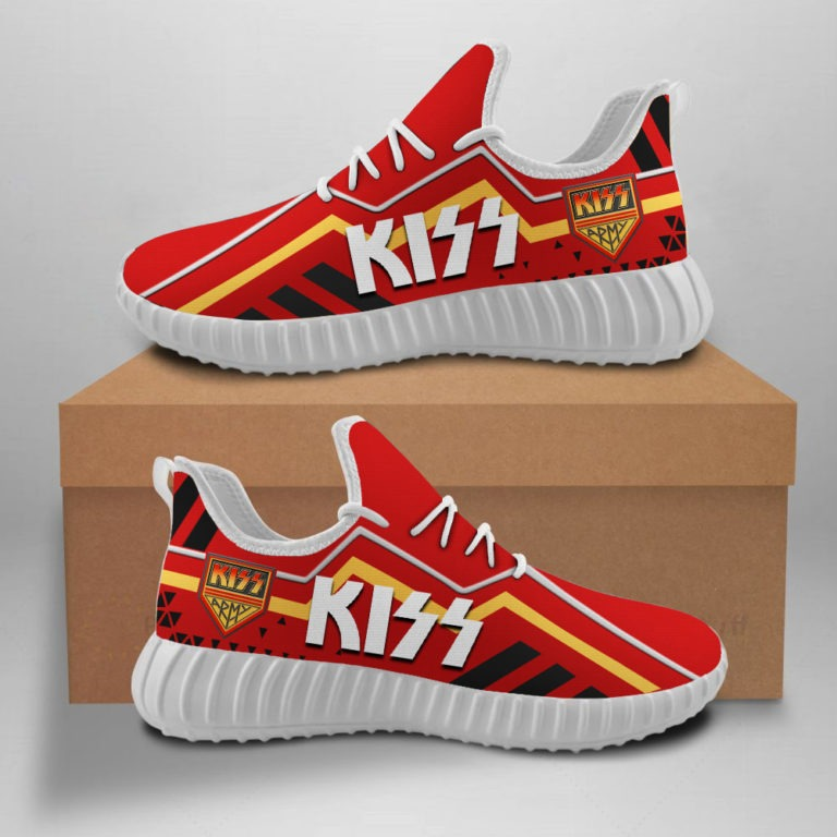 Kiss band Yeezy sneaker shoes