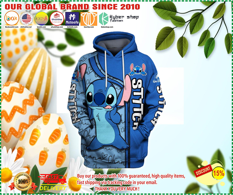 Lilo and stitch 3d hoodie - LIMITED EDITION BBS