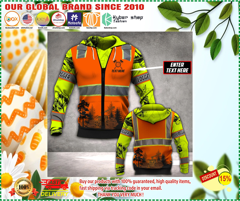 Logger safety custom personalized name 3d hoodie - LIMITED EDITION BBS