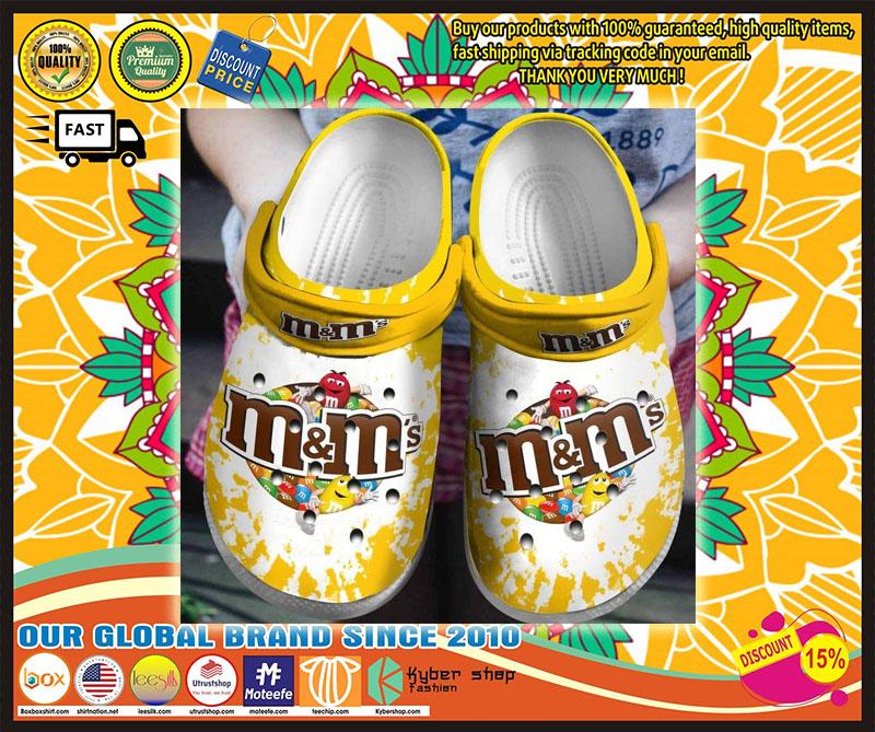 M&M's croc shoes crocband clog - LIMITED EDITION