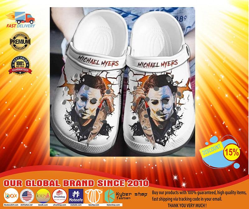 Michael Myers crocband crocs shoes - LIMITED EDITION