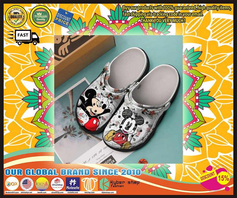 Mickey Mouse and Minnie croc shoes crocband - LIMITED EDITION