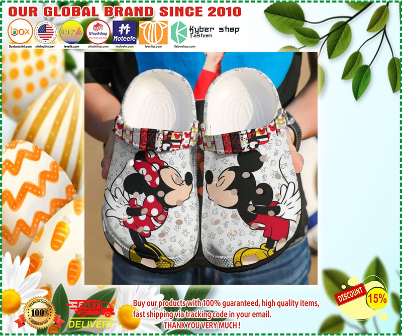 Mickey and Minnie mouse croc shoes crocband clog - LIMITED EDITION