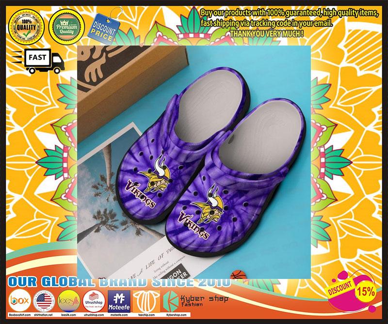 Minnesota vikings croc shoes crocband - LIMITED EDITION