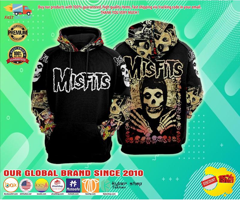 Misfits Cartoon 3d hoodie - LIMITED EDITION BBS