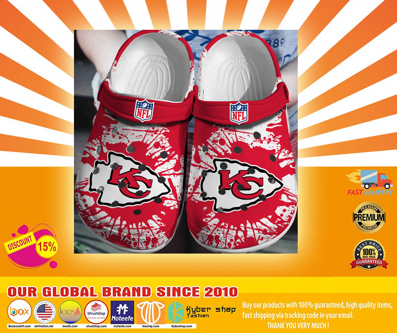 NFL Kansas Chief city crocs shoes crocband-LIMITED EDITION