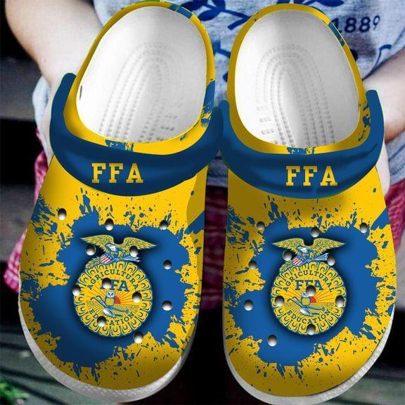 National FFA  Agriculture education croc shoes crocband - LIMITED EDITION