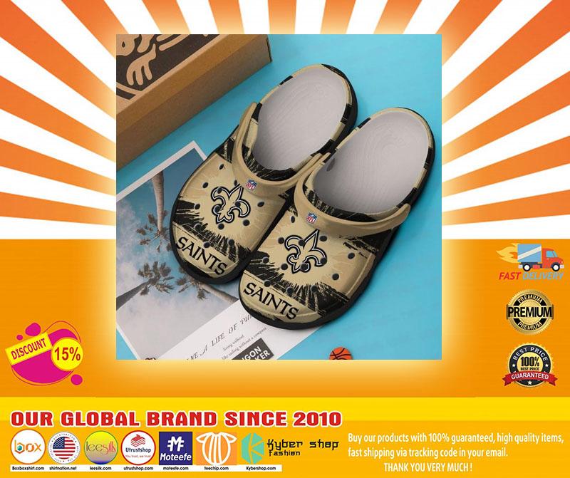 New Orleans Saints  NFL crocs shoes crocband - LIMITED EDITION