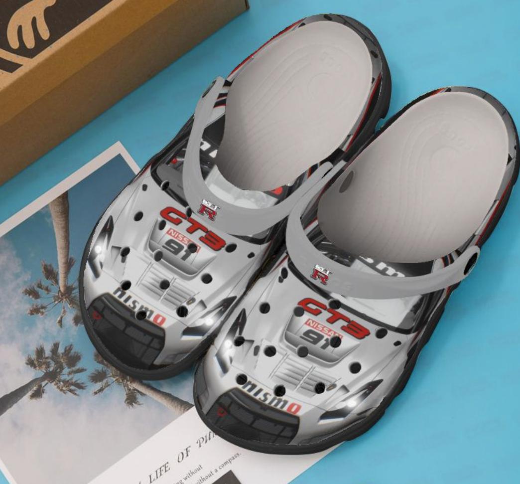Nissan GT-R car crocs crocband - dnstyles