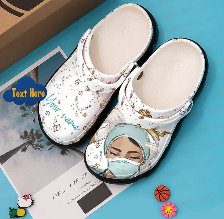 Nurse crocband croc shoes - LIMITED EDITION