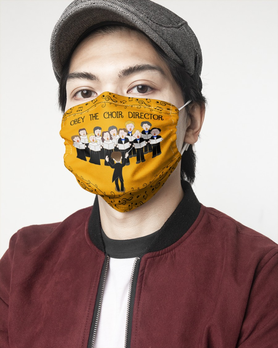 Obey the choir director face mask pack 3