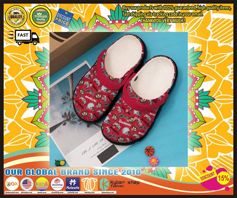 Ohio States Buckeyes croc shoes crocband - LIMITED EDITION