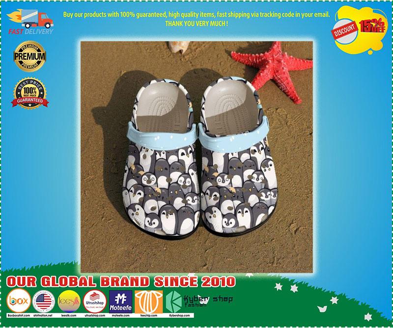 Penguins crocs shoes crocband - LIMITED EDITION