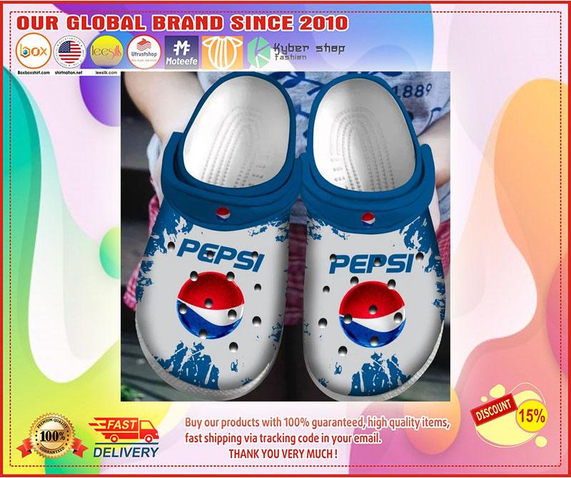 Pepsi crocs shoes crocband - LIMITED EDITION