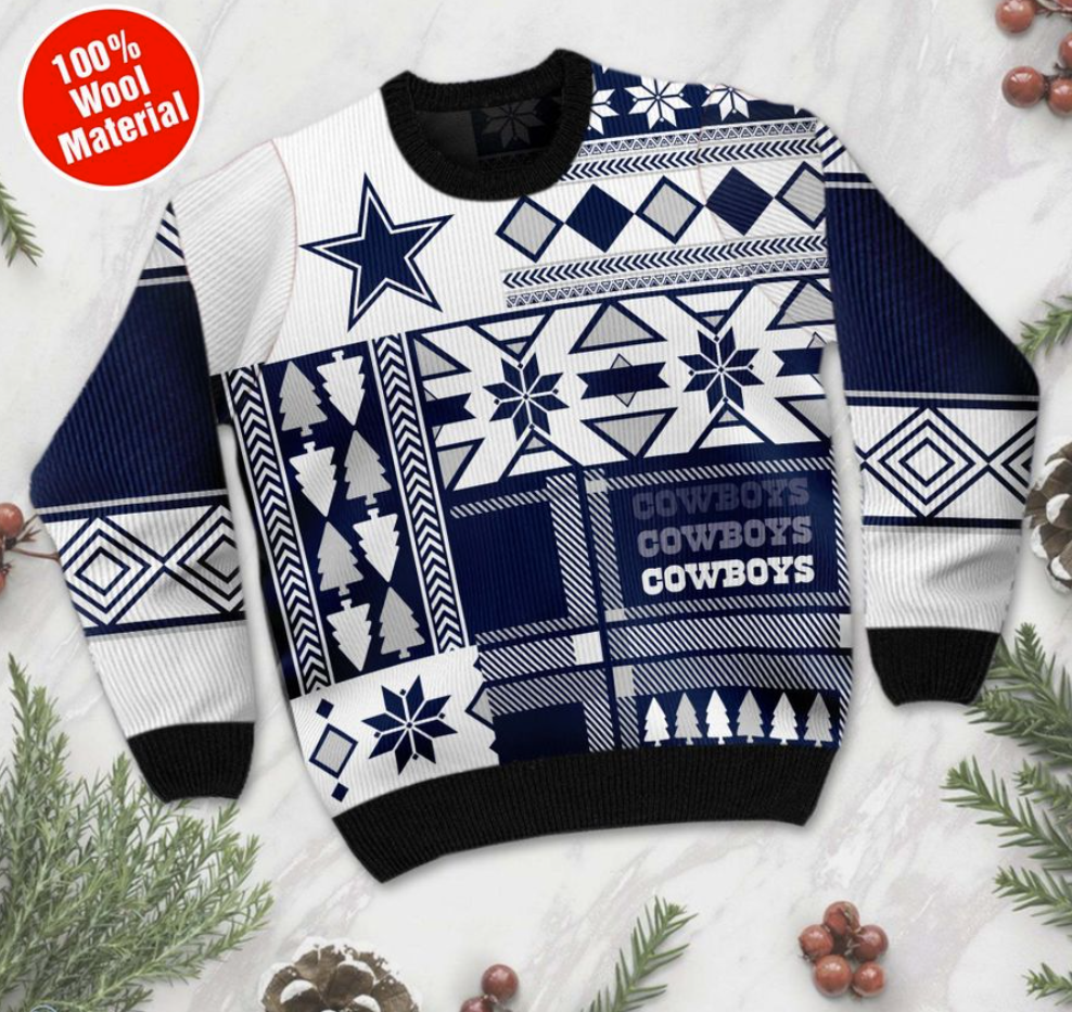 Personalized Dallas Cowboys ugly sweater - dnstyles