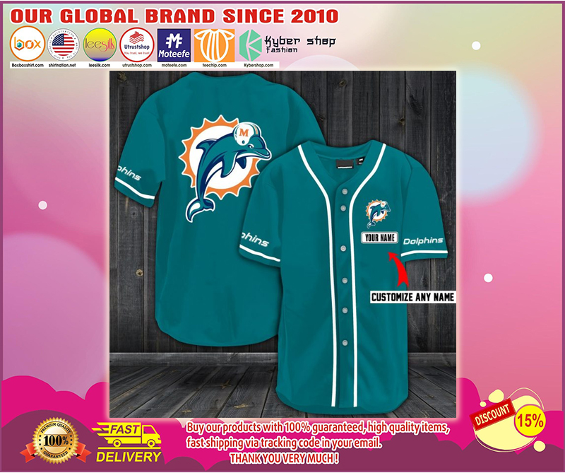 Personalized name jersey miami dolphins shirt - LIMITED EDITION BBS