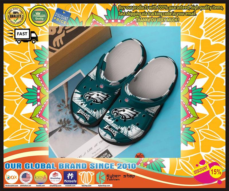 Philadelphia Eagles croc shoes crocband - LIMITED EDITION